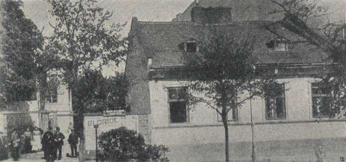Маєток Єльського, вигляд з нин. вул. Міцкевича 26 - 28, фото 1906 року