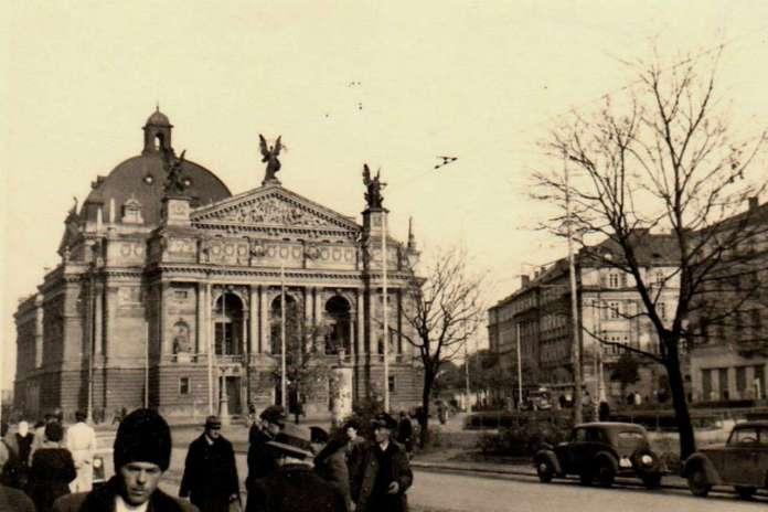 Нин. проспект Свободи. Фото до 1939 року
