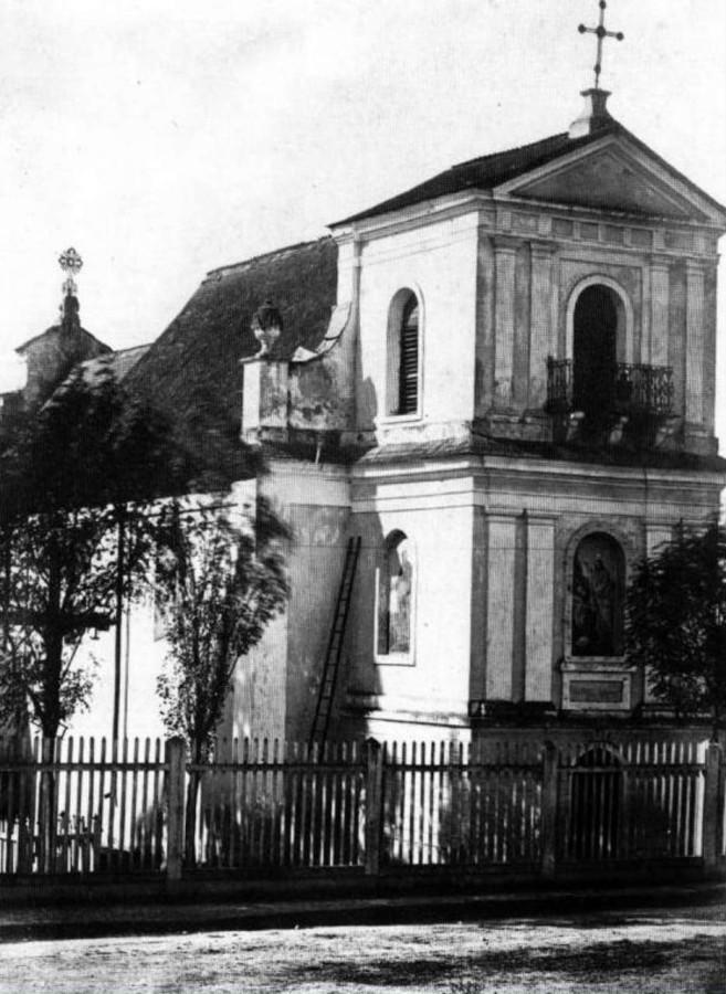 Петропавлівський храм на Личакові, фото Юзефа Едера, 1860 - 1870 рр.