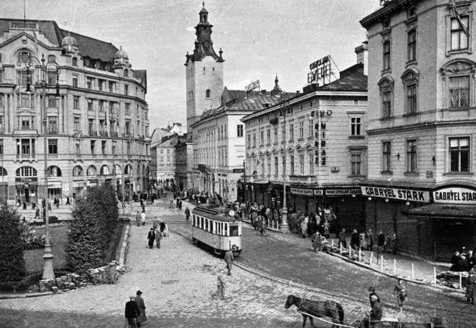 Передвоєнний Львів, фото кін. 1930 -х рр.