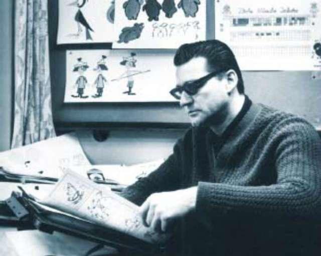 """Станіслав Дульц (1927-2006), польський режисер-аніматор, один з авторів """"Льоліка і Боліка"""""""