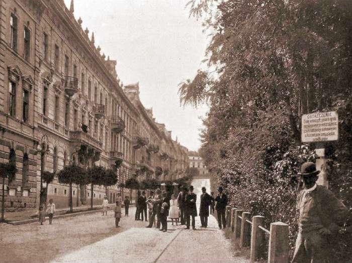Вулиця Крашевського, фото 1904 року
