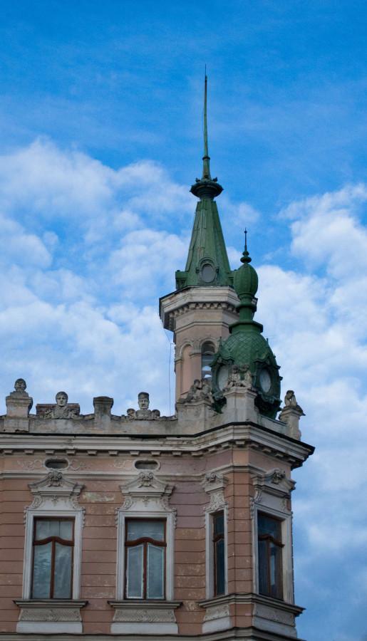 Фрагмент вілли - музею на вул. Драгоманова, сучасне фото
