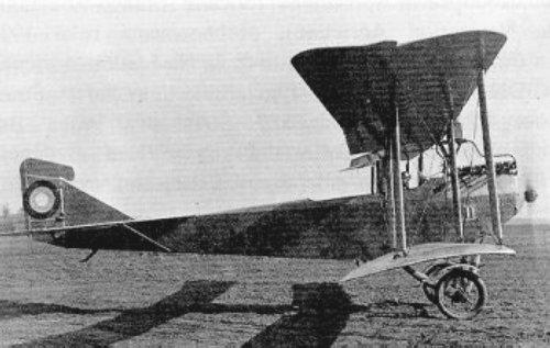 Літак Hansa-Brandenburg B.I ІІІ польської льотничої групи, фото 1919-1920 роки.