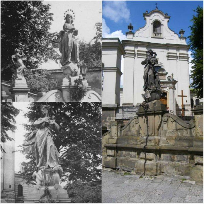 Скульптура Непорочного Зачаття Діви Марії, або куди зникли янголята