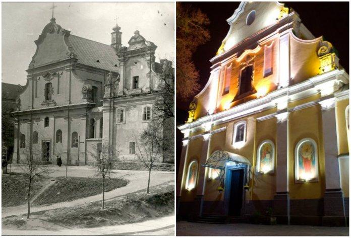 Унікальні домінанти тринітарського храму у Львові