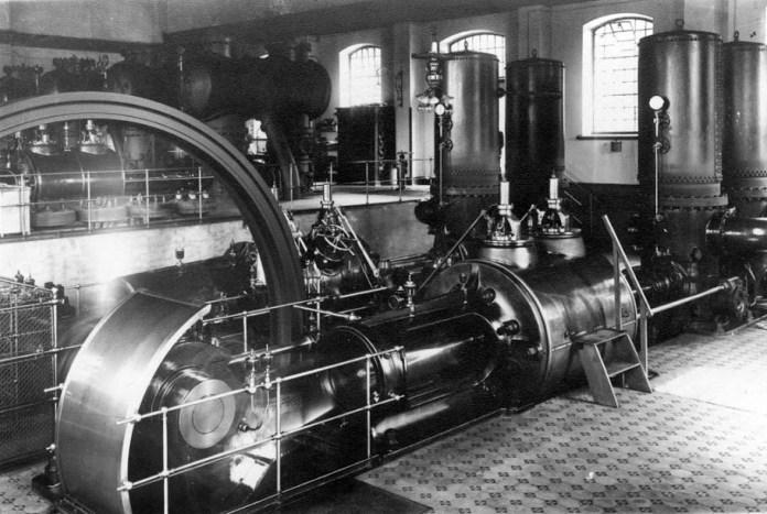 Електростанція на Персенківці, парові машини