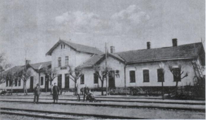 Станція Городок, фото 20-ті роки XX століття
