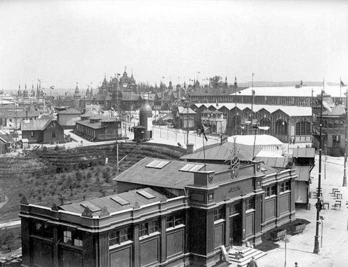 Загальна панорама виставки. Фото 1894 року