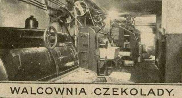 """Шоколадний цех """"Бранки"""". Фото 1925 року"""