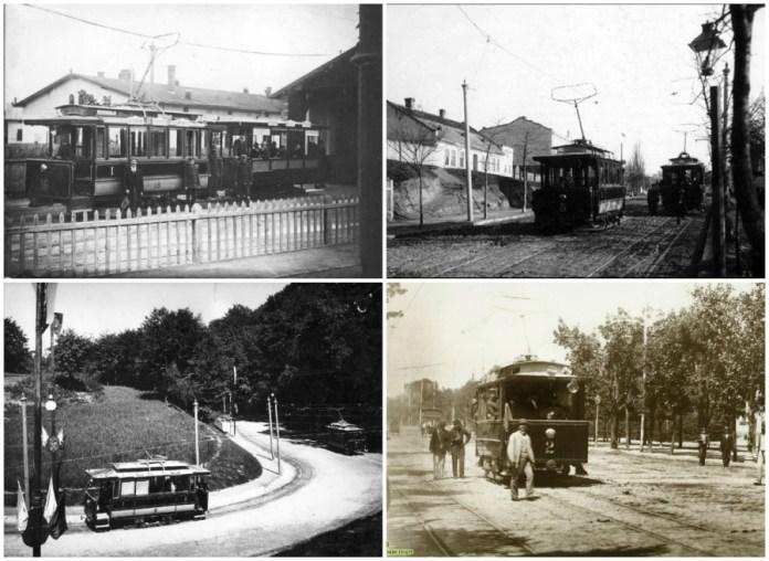 Трамвай Siemens & Halske у Львові.