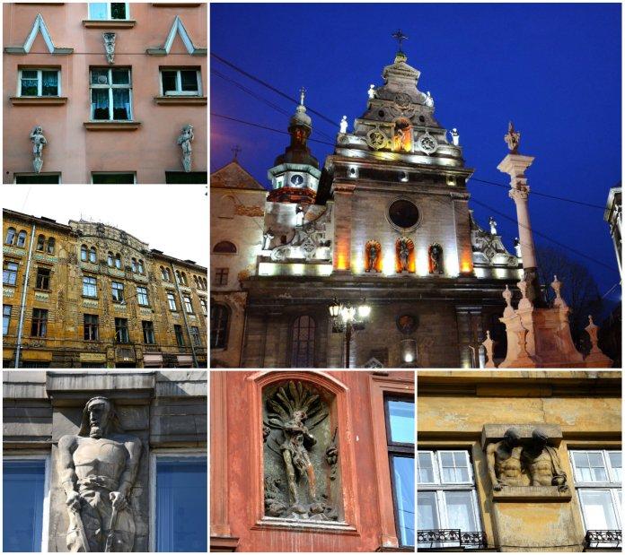 Непересічні фасади львівських будинків