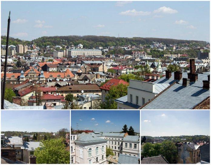 10 фотографій Львова з даху астрономічної обсерваторії