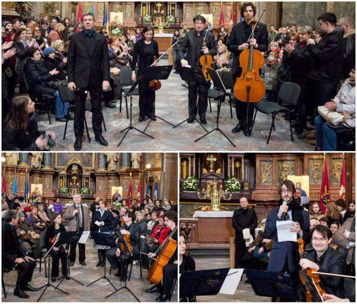 В гарнізонному храмі святих апостолів Петра і Павла відбувся концерт «Моцарт в Галичині»