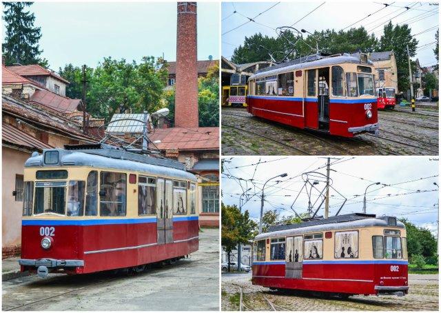 Відреставрований трамвай Gotha T-59.