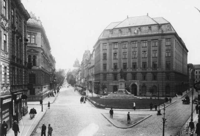 Площа Смольки у 1921 році