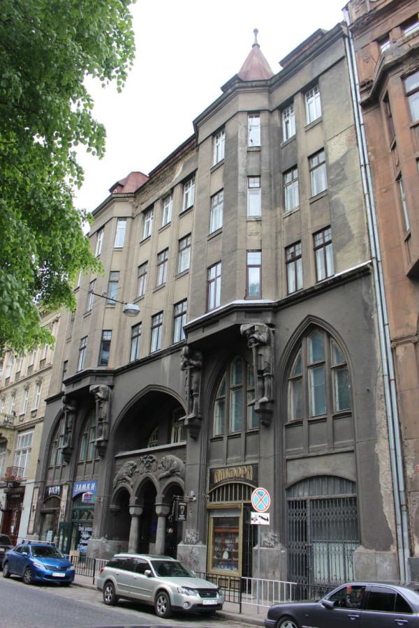 Споруда Львівського радіо на вулиці Князя Романа, 6. Фото 2015 року