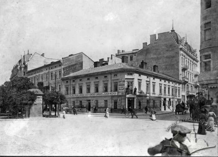 Дім Гелени Будзіновської на Академічній. Фото ательє Губерів. 1910 рік