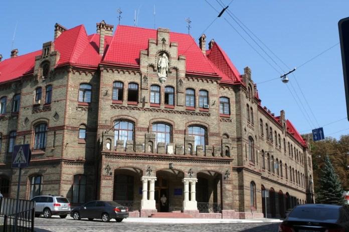 Будівля Управління пожежної охорони МНС.