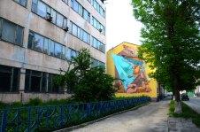 Графіті на стіні по вулиці Заводській