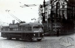 Площа Міцкевича, фото, 1952 рік.