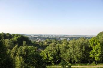 Панорама на Львів з Кайзервальду