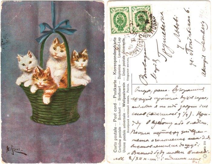 Лист Михайла Грушевського до Марії Грушевської. Київ, 19.11.1907