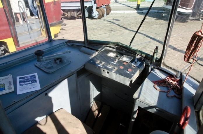 """У кабіні """"Gotha T59E"""" №002."""