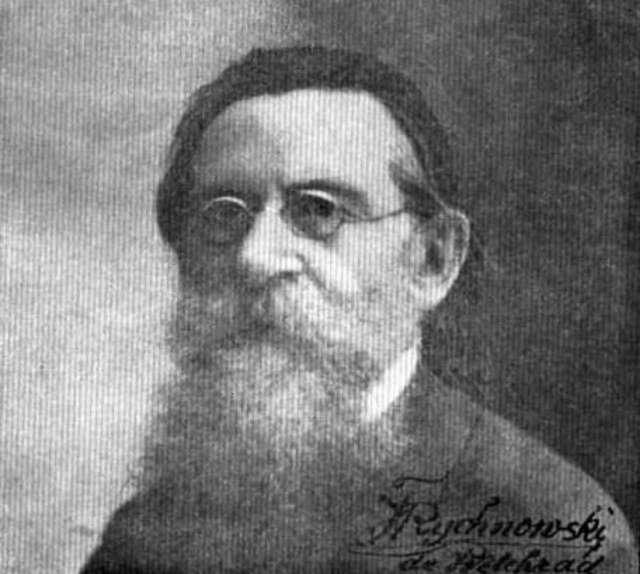Францішек Рихновський (1850-1929). Фото 1923 року