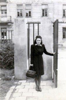 Марта Березовська після повернення у Львів. Фото 1946 р.
