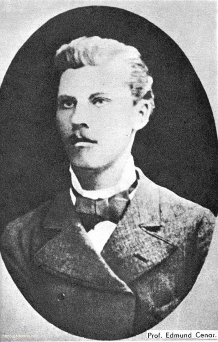 Едмунд Ценар (1856-1913), один з піонерів львівського футболу