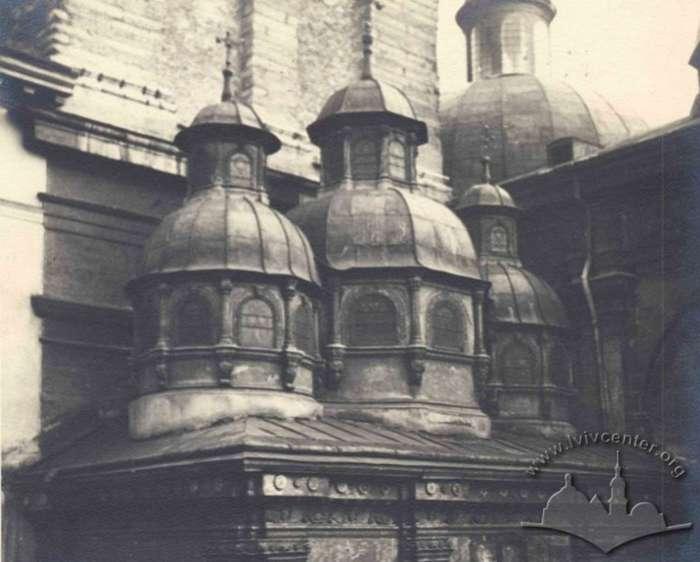 Бані каплиці. Фото до 1939 року