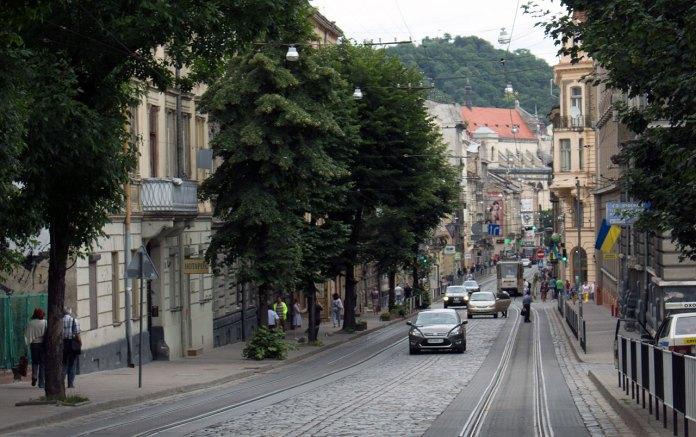 Вулиця Сикстуська (зараз вул. Дорошенка)