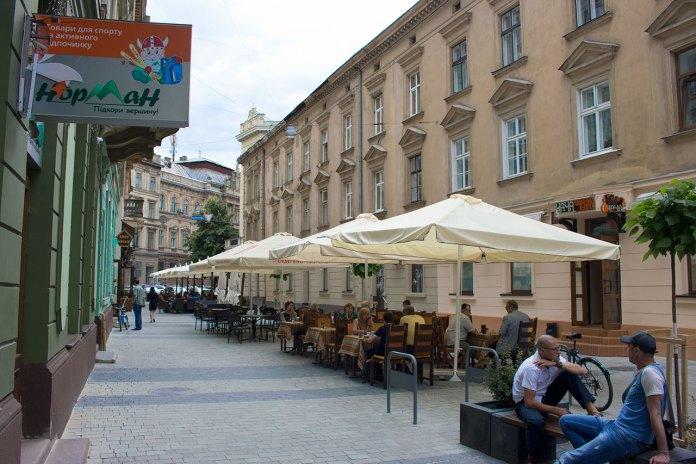 Колишня вулиця «червоних ліхтарів»(сучасна вул. Леся Курбаса)
