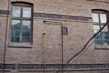Фрагменти оздоблення стін фабрики