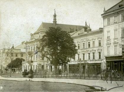 «Віденська» кав'ярня, фото, 1890-1897 роки.