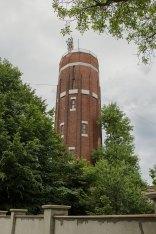 Водонапірна вежа на вулиці Тернопільській у Львові, фото червень 2015 року