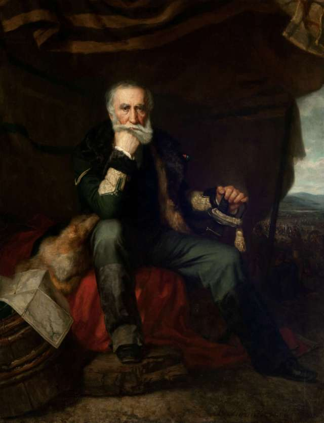 Генерал Генрик Дембінський (1791-1864). Портрет Розвадовського