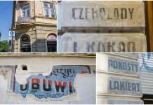 Довоєнна реклама на стінах сучасного Львова
