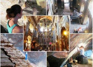 Як реставрують стінопис Гарнізонного храму, або мистецтво рятувати фрески