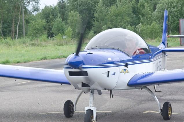 """Сортивний літак на аеродромі """"Цунів"""". Фото Костянтин Баранюк"""