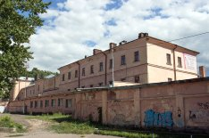Вірменський монастир Св. Хреста, де розміщувалася Папська колегія до 1740-х рр.