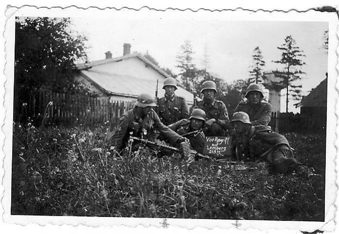 Війська вермахту в околицях Львова, 21.09.1939