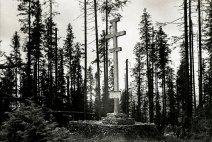 Хрест на Маківці на честь загиблим воякам УСС.
