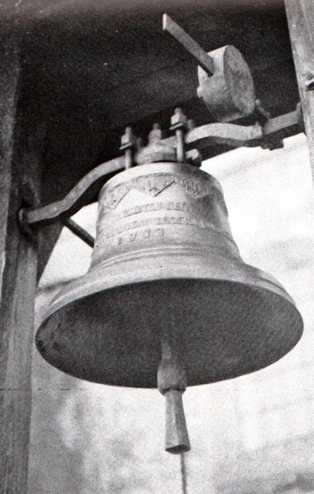 Костел Св. Войцеха. Дзвін. 1913 р.