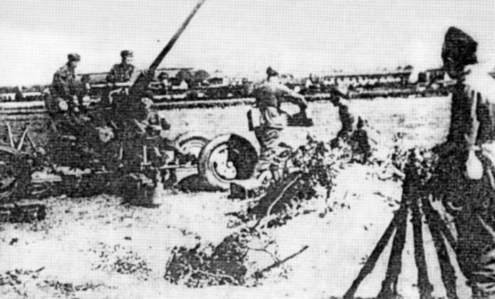 Польська зенітна артилерія у Львові, 1939 рік