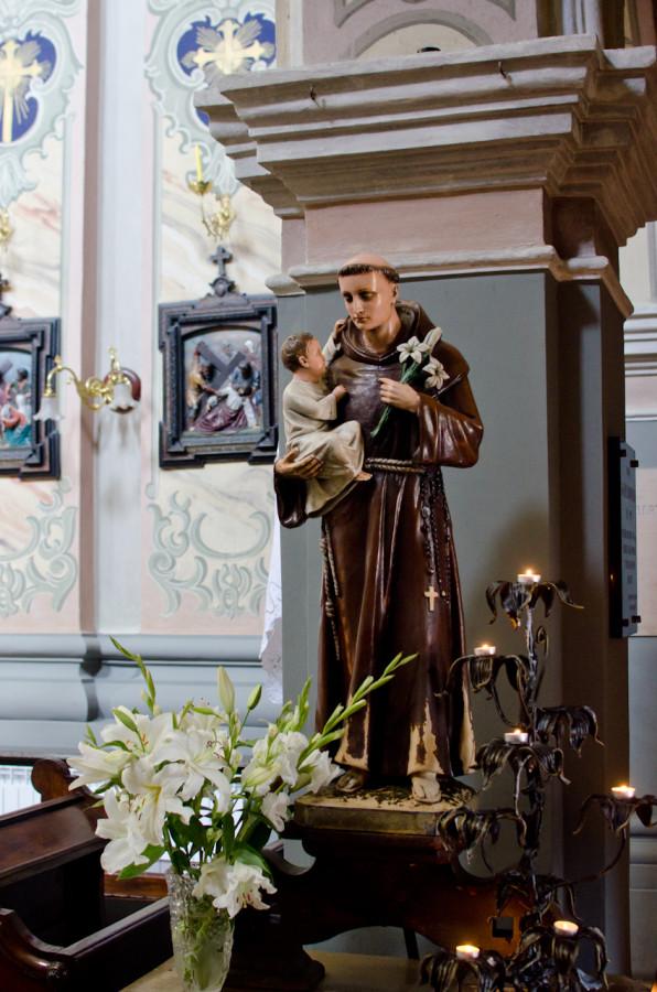 Статуя святого Антонія з Падуї