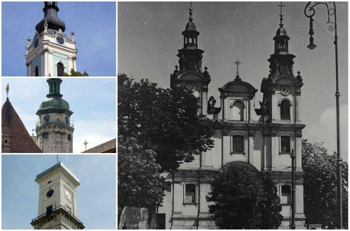 12 найстаріших годинників Львова