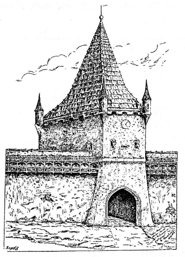 Галицька брама (середина XVIII ст.)