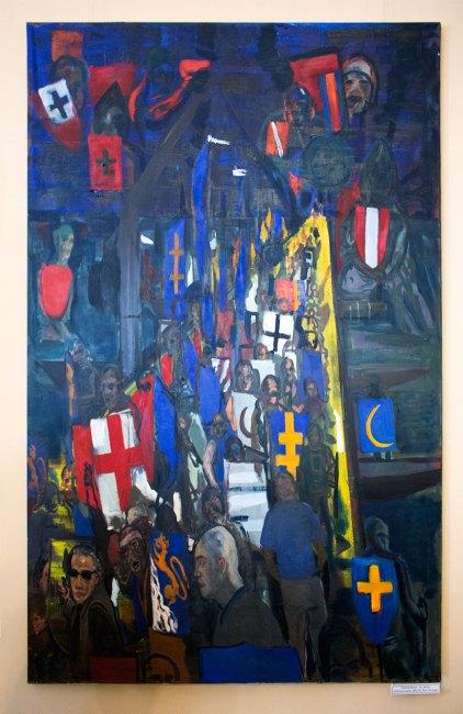 """Ґжеґож Вненк """"Без назви"""", полотно, акрил, 180х130, 2010, Польща"""